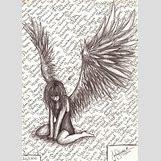 Fallen Angel Drawings | 516 x 720 jpeg 167kB