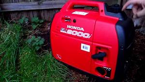 Prepper Tools - Honda Eu2000i Generator For Quiet Power Needs
