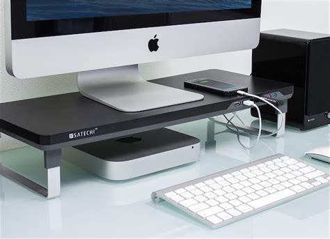 bureau imac satechi une gamme de supports pour imac et écrans