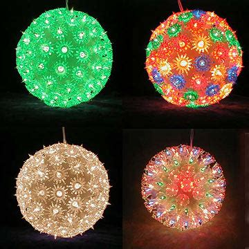 image gallery outdoor christmas ball lights