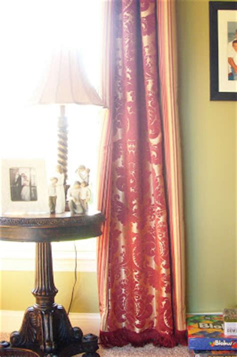 quot custom quot store bought curtains tutorial tuesday
