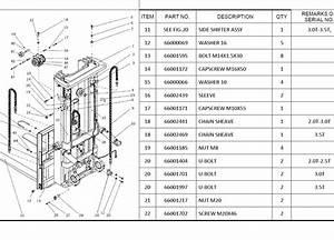 Utilev Forklift Full Set Parts Manual Dvd