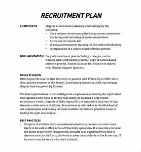 recruitment plan template resume template sample With recruitment action plan template