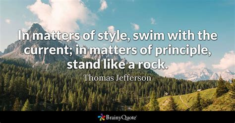thomas jefferson  matters  style swim