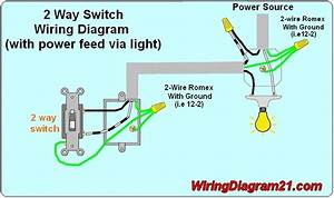 3 Way Switch Wiring Diagram Power From Light
