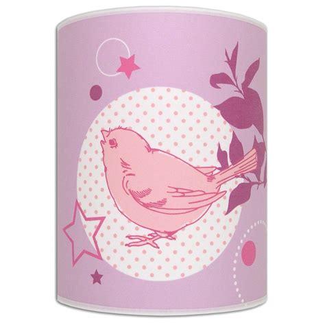 applique murale chambre fille applique lumineuse et parme lovely bird pour chambre