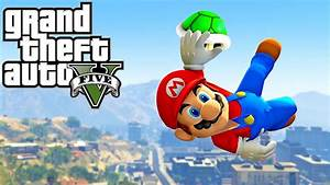 GTA 5 SUPER MARIO ODYSSEY Best Parkour Fails Highest