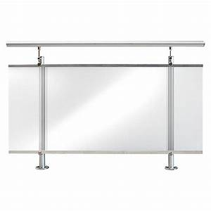 Tisch Für Balkongeländer : treba frewa gel nderset af2 oberbodenmontage aluminium ~ Whattoseeinmadrid.com Haus und Dekorationen