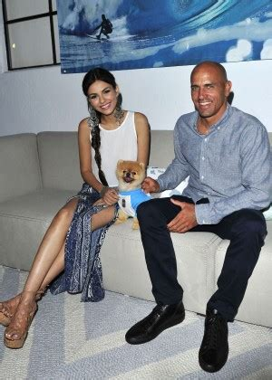 Victoria Justice  Kelly Slater For Pbteen Launch Event In