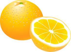 Orange Fruit Clip Art Free