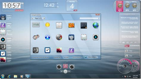 gadgets bureau windows 7 standalone gadgets pack brings stylish gadgets to windows