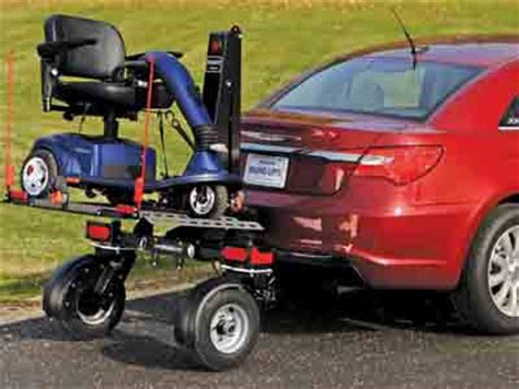 bruno chariot lift on wheels for scooters and wheelchairs