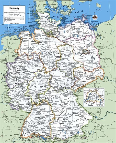 map  germany  cities  towns