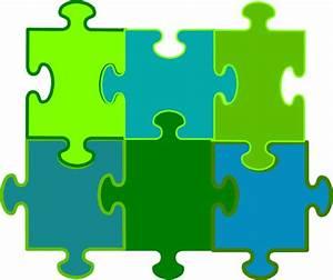 Jigsaw Puzzle 6 Pieces Clip Art at Clker.com - vector clip ...