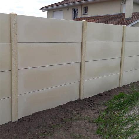 cloture beton prix prix cloture beton prix et pose d 39 une cl ture b ton