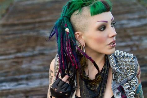 staggering dreadlock hairstyles  shaved sides