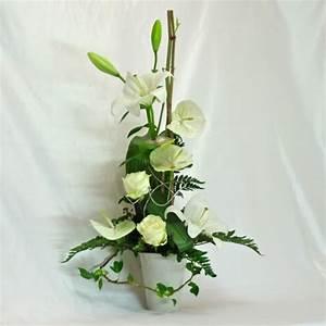 floral arrangement of natural flowers gift for wedding With chambre bébé design avec composition fleur mariage