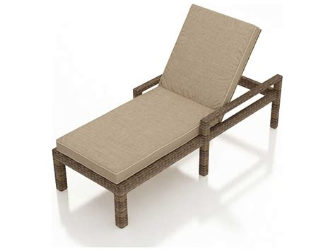 single arm chaise lounge forever patio cypress wicker cushion single adjustable chaise lounge with arms fp cyp acl hr