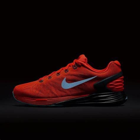 Nike Womens Lunarglide Running Shoes Bright Crimson