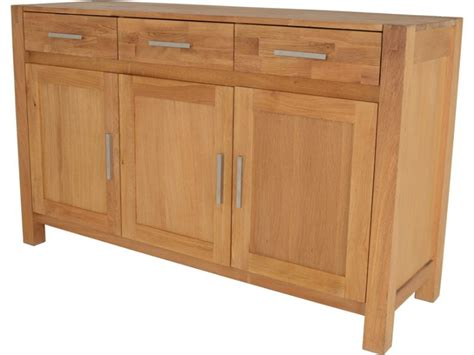 3 Door Sideboard by Durham Oak 3 Door Sideboard Furniture Barn