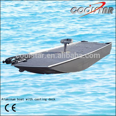 Fishing Boat Casting Deck by A Type Aluminum Fishing Boat With Casting Deck Buy A