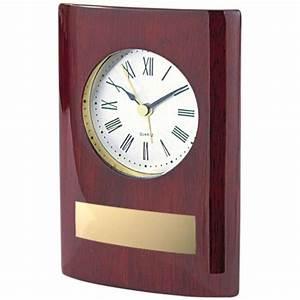 TROPHES GRAVURES EXPERT Ides Cadeaux Horloge DELUXE