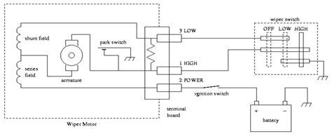 69 Fairlane Windshield Wiper Wire Diagram by K2599 Wiper Delay Wiring With 2 Speed Gm Motor