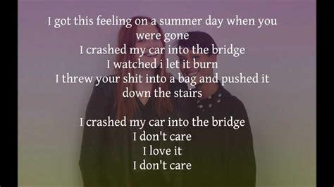 I Love It (lyrics)