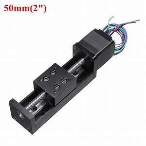 Mini 50 8in T6 Linear Cnc Slide Stage Actuator 50  100