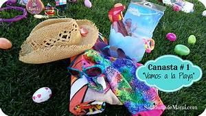 Vamos A La Playa : 8 mejores canastas de pascua sin dulce para ni os sabidur a de mami ~ Orissabook.com Haus und Dekorationen