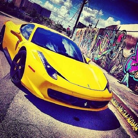 Want to know what new convertible sells for about $20k? Great looking Ferrari 458 for rental in Miami by South Beach at cheap rental rates. #Cars # ...