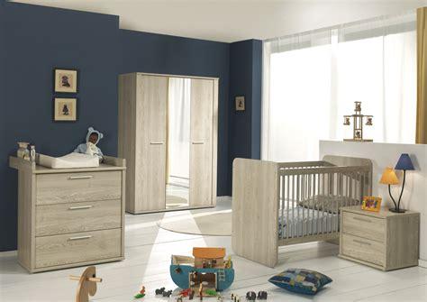 meuble chambre de bébé chambre bébé complète contemporaine chêne clair