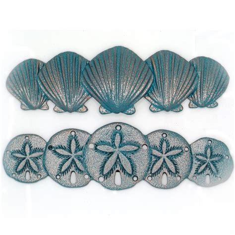 pin by sea life cabinet knobs on scallop drawer pulls