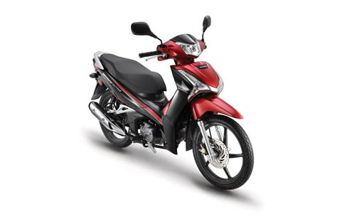 new wave 125i introduced by boon siew honda imotorbike news
