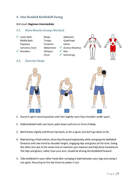 kettlebell swing exercise pin by macp on exercises kettlebell