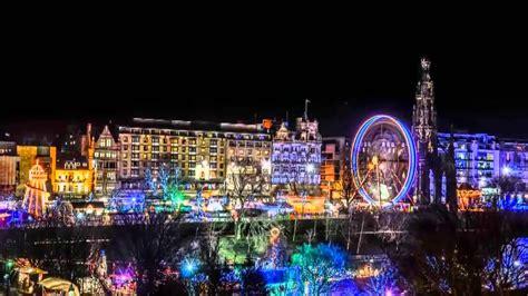 edinburgh christmas market 2012 short timelapse youtube