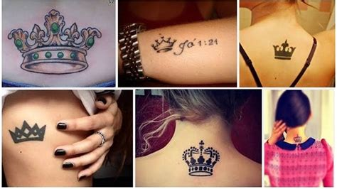 unique crown tattoo designs  embrace royalty styles
