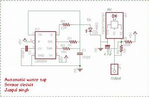Automatic Water Tap Using 555 Timer
