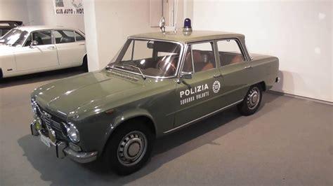 polizia squadra volante alfa romeo giulia polizia squadra volante