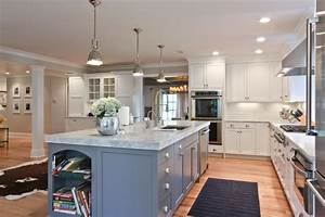 24 kitchen island designs decorating ideas design With best brand of paint for kitchen cabinets with long beach wall art