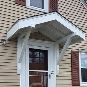 door canopies window awnings ct aluminum fabric wood aladdin