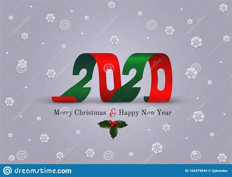 The flyer you see features a fully now, go check 10 free new years eve psd flyers and choose the most suitable option for your upcoming. Merry Christmas And Happy New Year 2020 Greeting Card ...