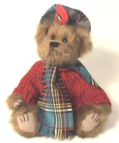 tartan hamish bear bears  toys  scottish shop