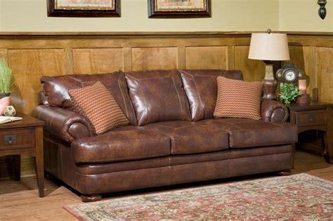 Klaussner Montezuma Ld43800 S Casual Style Leather Sofa