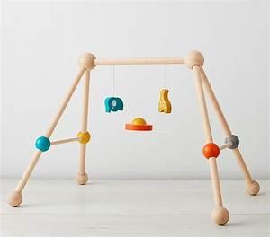 Baby Gym Holz : wooden play gym pottery barn kids ~ Watch28wear.com Haus und Dekorationen
