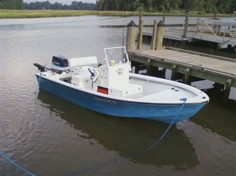 Center Console River Boats glasspar center console conversion running on the