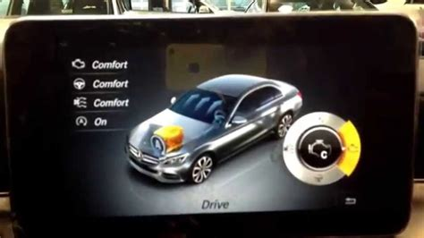 With the agility select feature, driving has become simpler, faster, more luxurious and comfortable. Agility button in the 2015 C Class. - YouTube