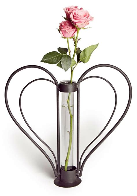 Cylinder Flower Vases by Small Shape Flower Vase With Removable Glass