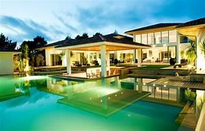 Maison Moderne De Luxe Avec Piscine Stunning Maison Moderne De Luxe
