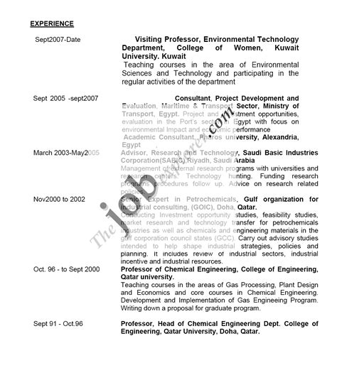 Instructor Resume Sle by Biology Instructor Resume Sales Instructor